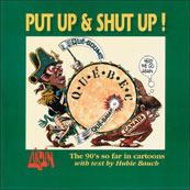 Aislin book cover, 'Put Up & Shut Up',