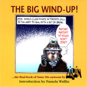Aislin book cover, 'The Big Wind-Up!'.